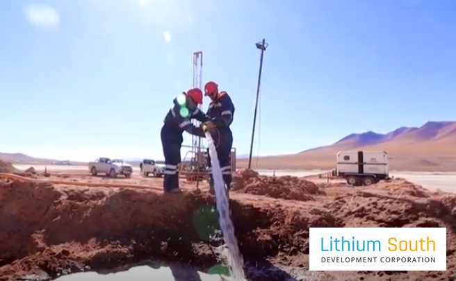 Lithium South Argentina Team
