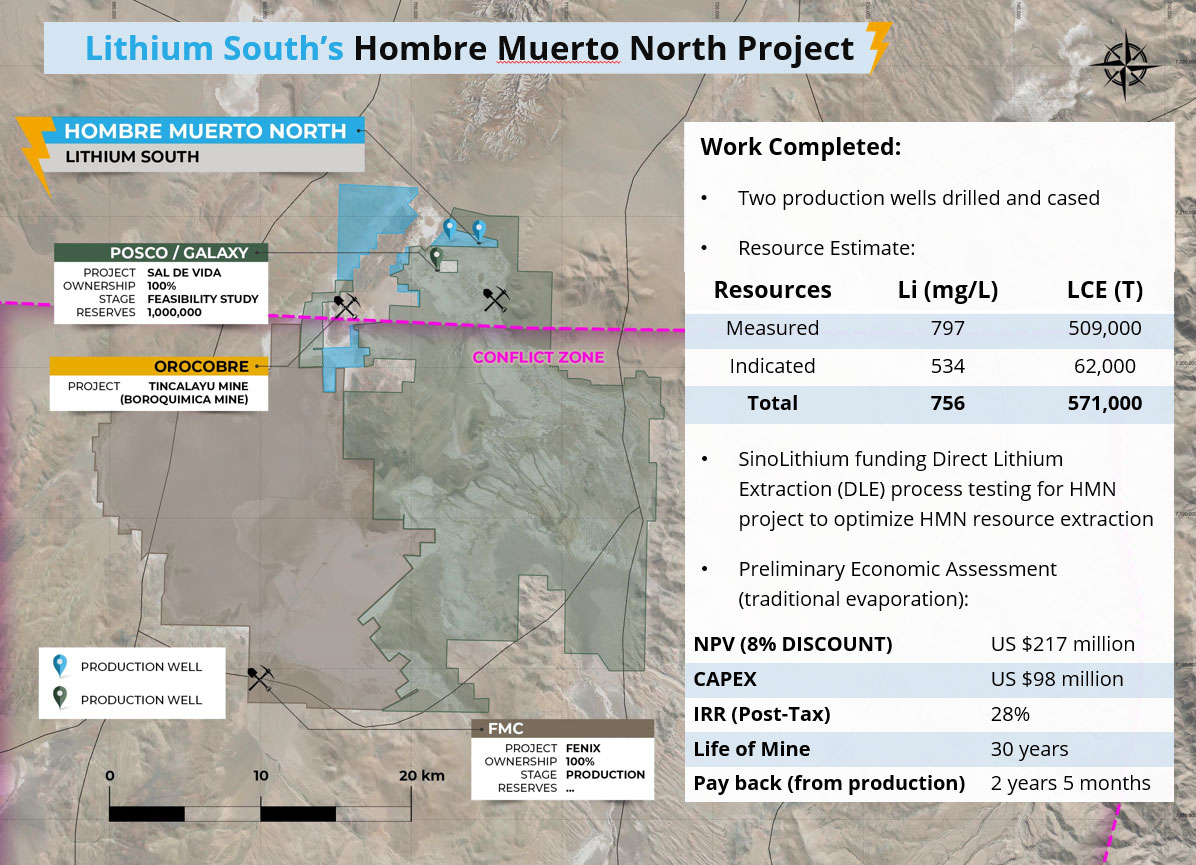 Hombre Muerto North Lithium Project Claims
