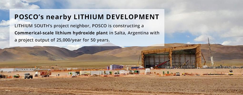 POSCO's nearby Lithium development