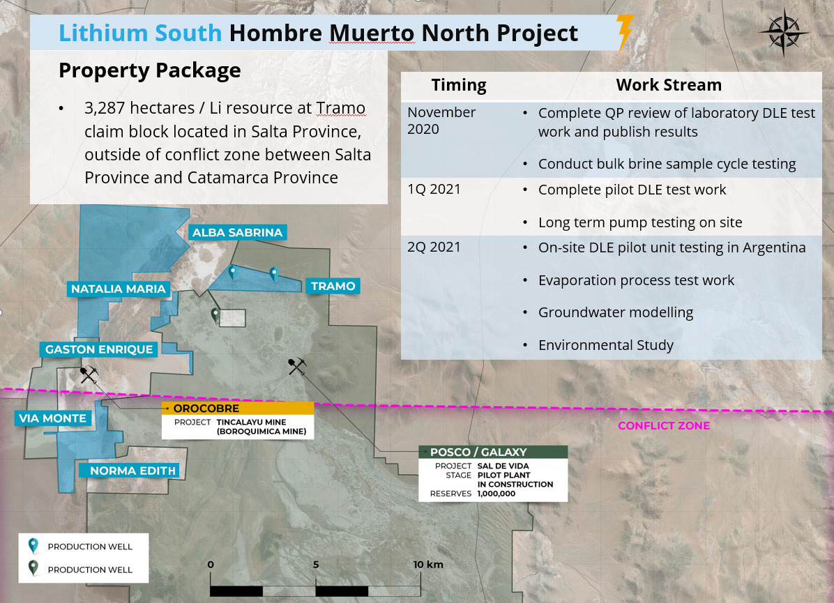 Lithium South - Hombre Muerto North Lithium Project Package